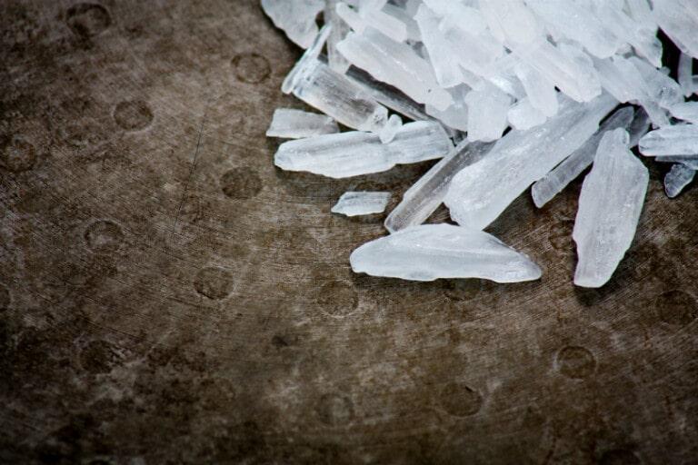 De bijwerkingen van crystal meth